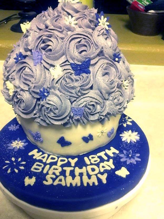 Birthday Cake For Sammy 18 Year Old